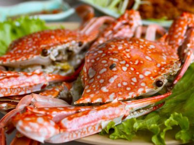 Seafood in Halong Bay
