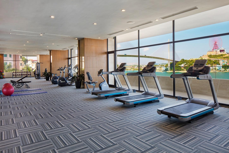 phòng tập gym khách sạn hạ long
