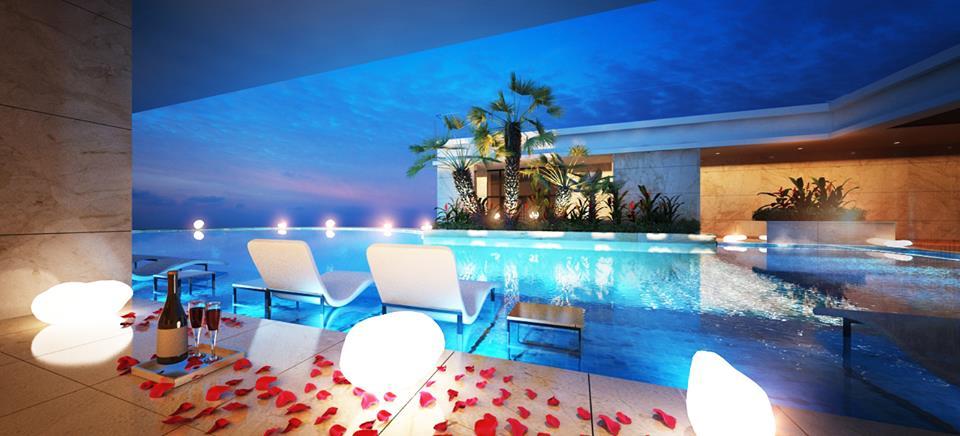 Cần tìm một khách sạn tại Bãi Cháy có bể bơi ngoài trời?2