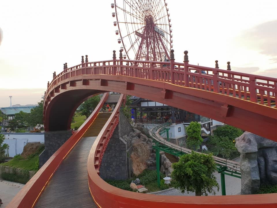 Hạ Long Park - Cầu Tình Yêu - du lịch Hạ Long
