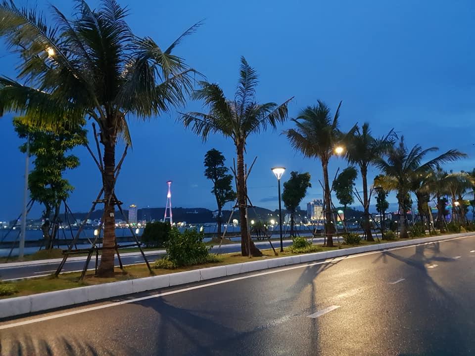 Ha Long's coastal road