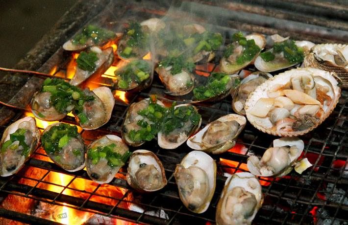 Ha Long grilled oyster