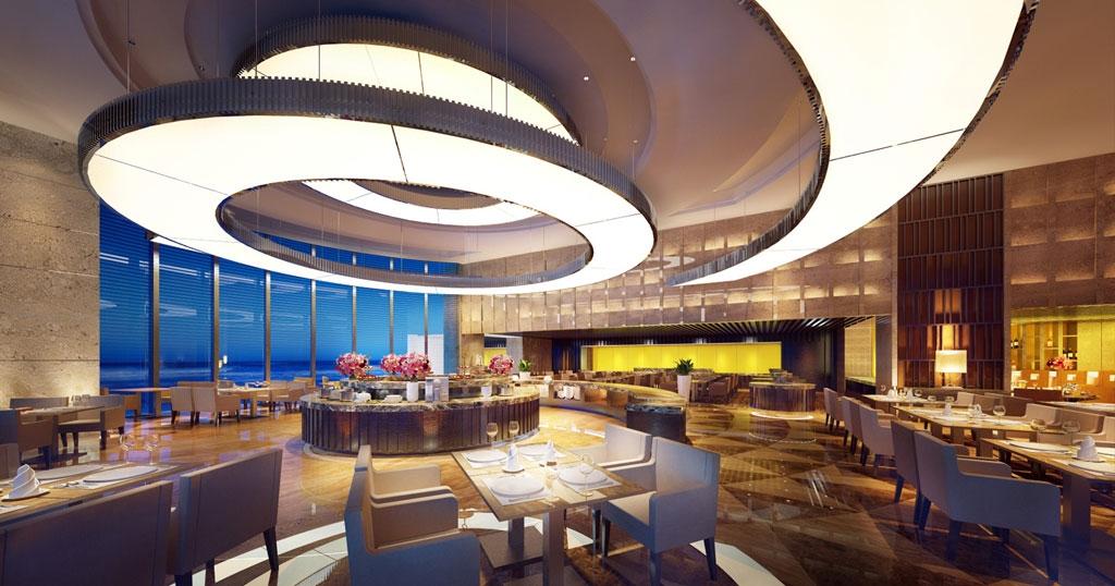 Thomas view on Wyndham Legend Ha Long restaurant