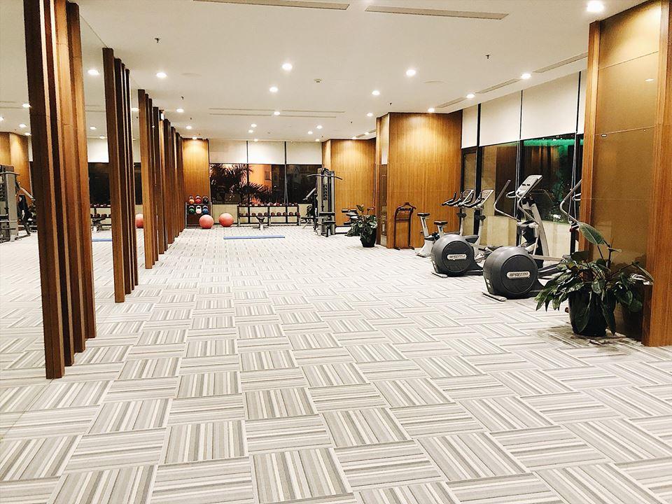Phòng tập Gym khách sạn Wyndham Hạ Long