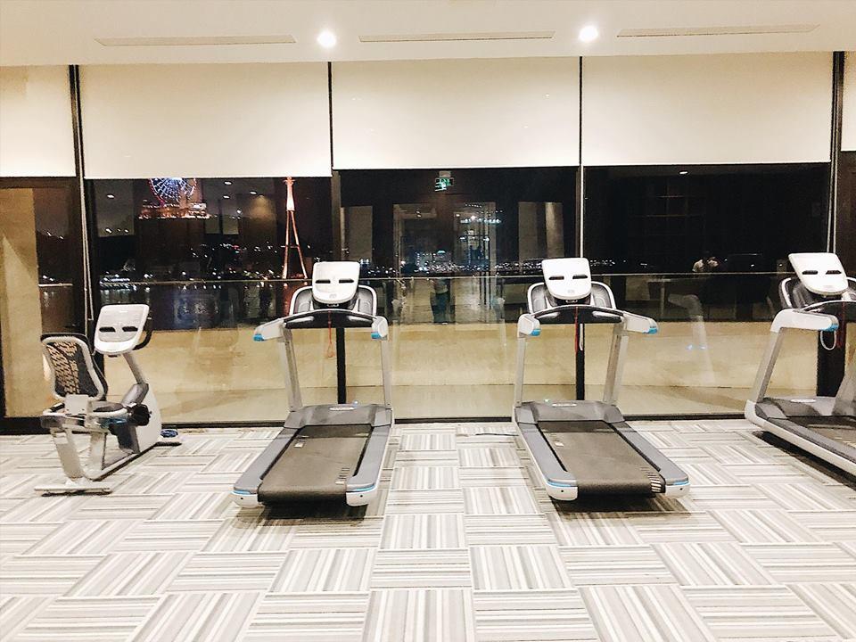 Phòng Gym khách sạn Wyndham Halong