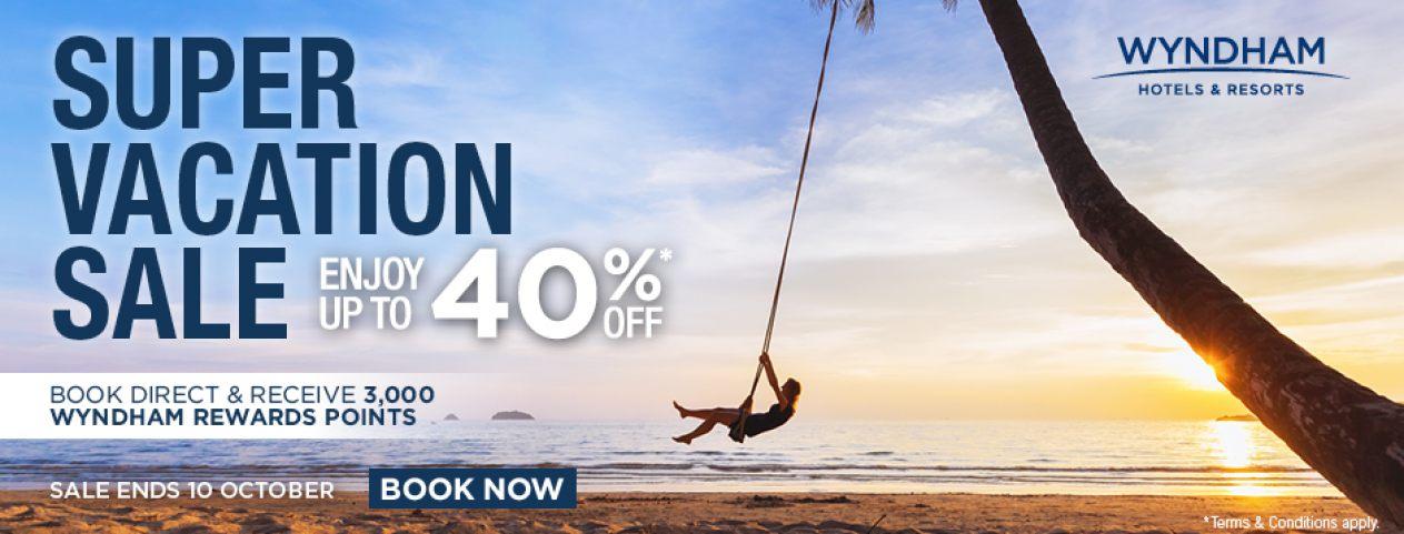Wyndham Legend - Sale up to 40%